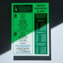 GMDSS Card Bespoke
