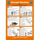 ISM Helicopter Rescue Poster Vinyl
