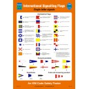 ISM International Signalling Flags Poster Vinyl