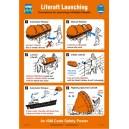 ISM Liferaft Launching Poster Vinyl
