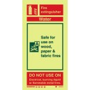 Water Fire Extinguisher Instructions Rigid