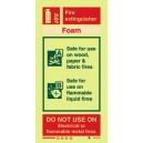 Foam Fire Extinguisher Instructions Rigid