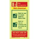Wet Chemical Fire Extinguisher Instructions Vinyl