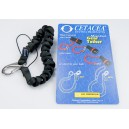 Cetacea Mini Coil Tether with Cord Loop